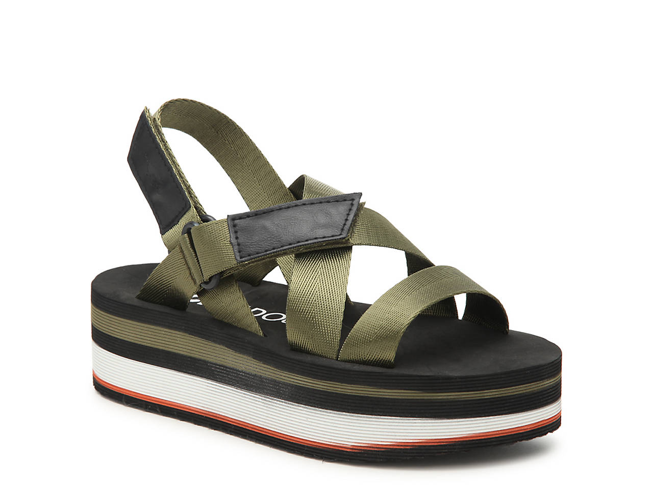 b4874dcf455 Rocket Dog Jarvis Platform Sandal Women s Shoes