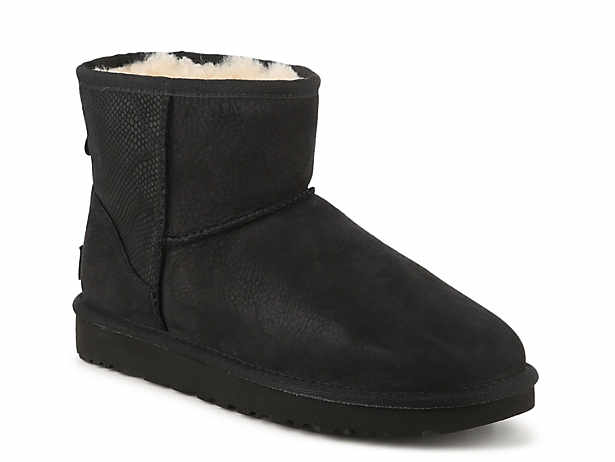 all black ugg moccasins