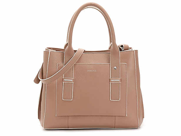 Perlina Cali Leather Satchel