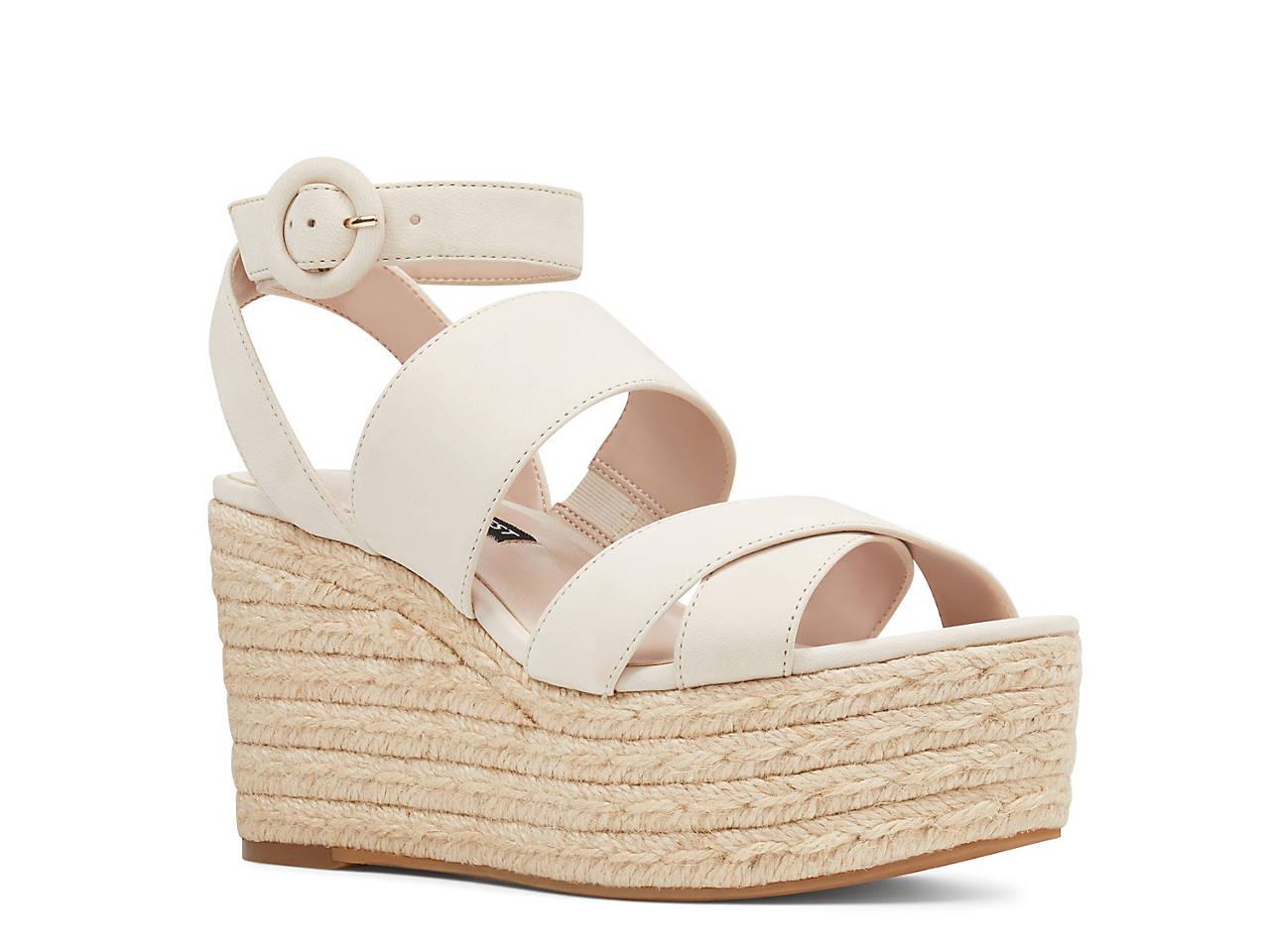 b0ddb7860cf3 Nine West Kushala Espadrille Wedge Sandal Women s Shoes