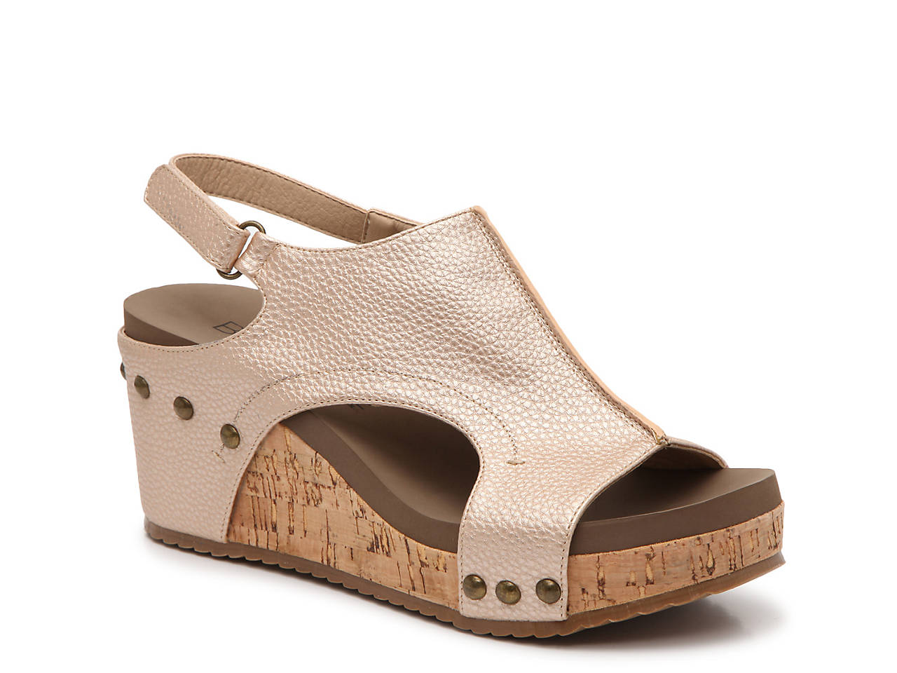 f3d3e62fb8c Corkys London Wedge Sandal Women s Shoes