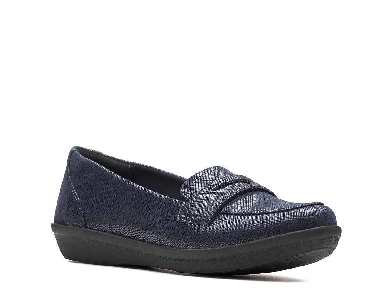 797bb063a3 Clarks Ayla Form Penny Loafer Women s Shoes