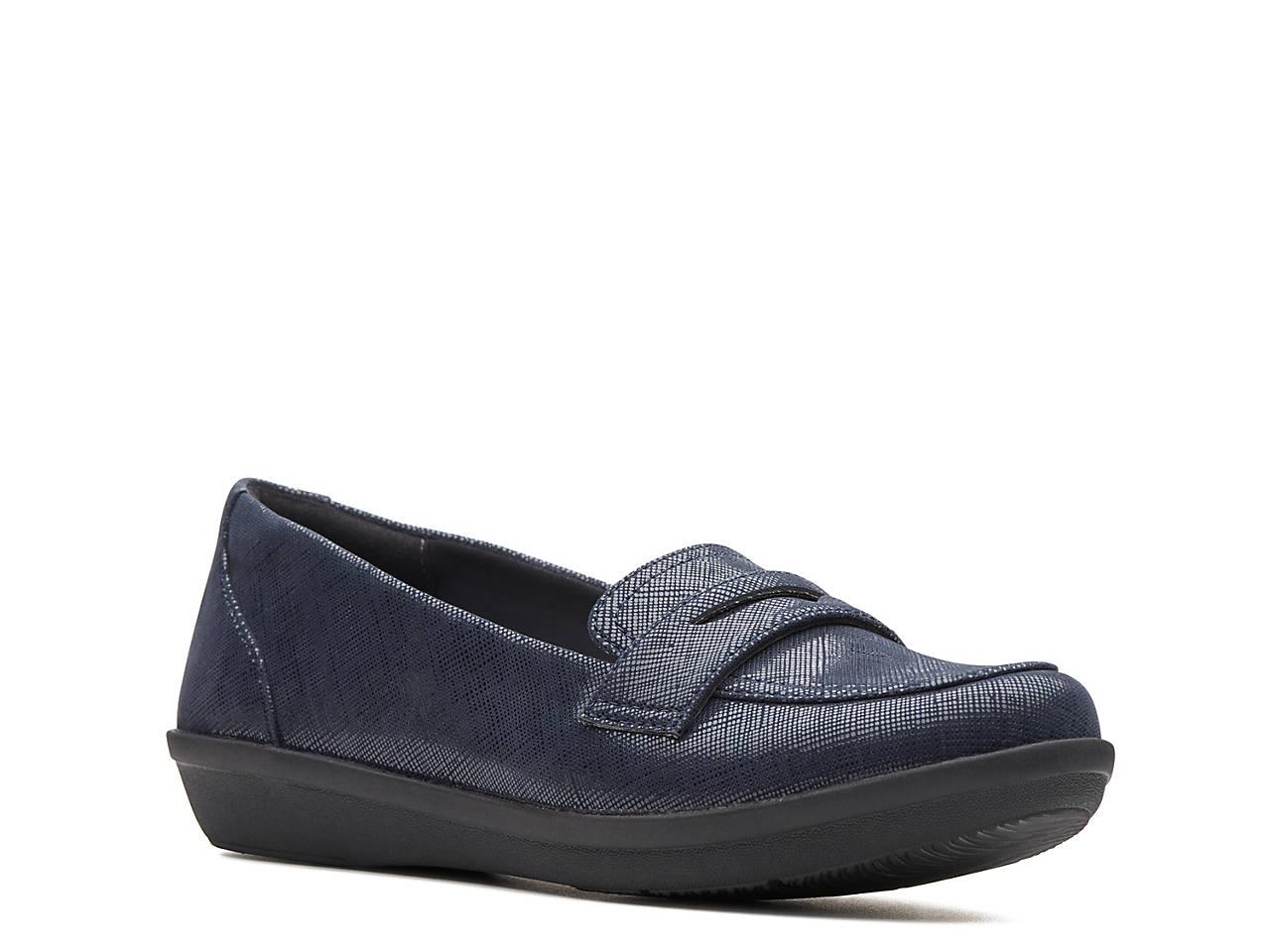 c8e365e7490 Clarks Ayla Form Penny Loafer Women s Shoes