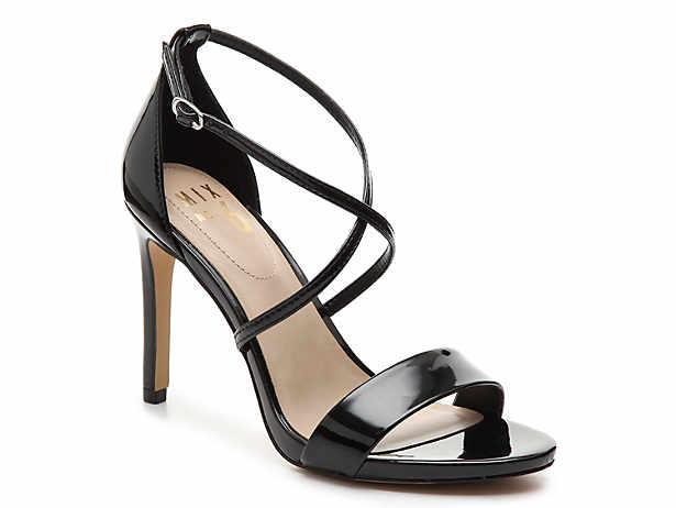3be110e018235d Women s Black Mix No. 6 Open Peep Sandals