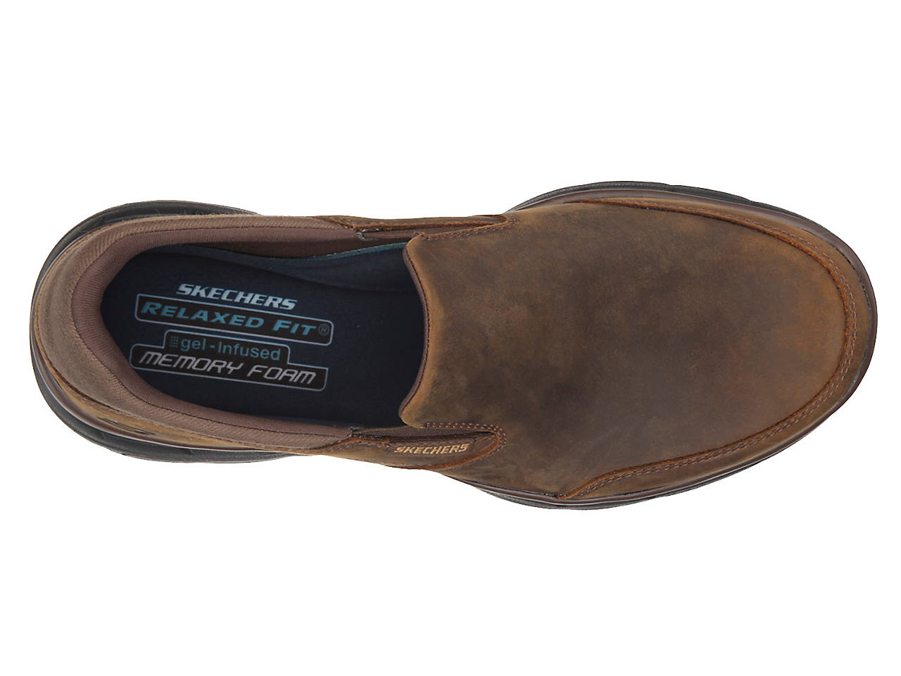 badfa64301a Skechers Relaxed Fit Glides Calculous Slip-On Men s Shoes