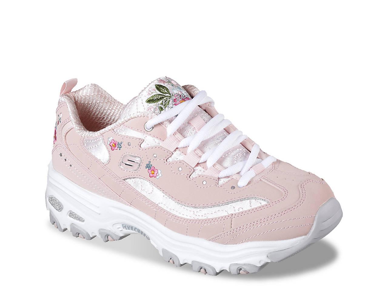 23f25f461148 Skechers D Lites Bright Blossoms Sneaker - Women s Women s Shoes