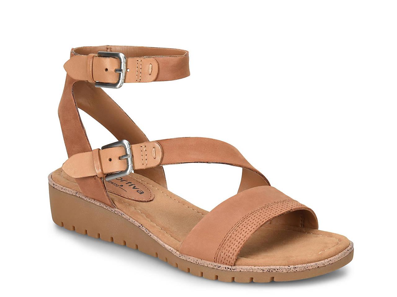 14975c06607 Comfortiva Corvina Wedge Sandal Men s Shoes