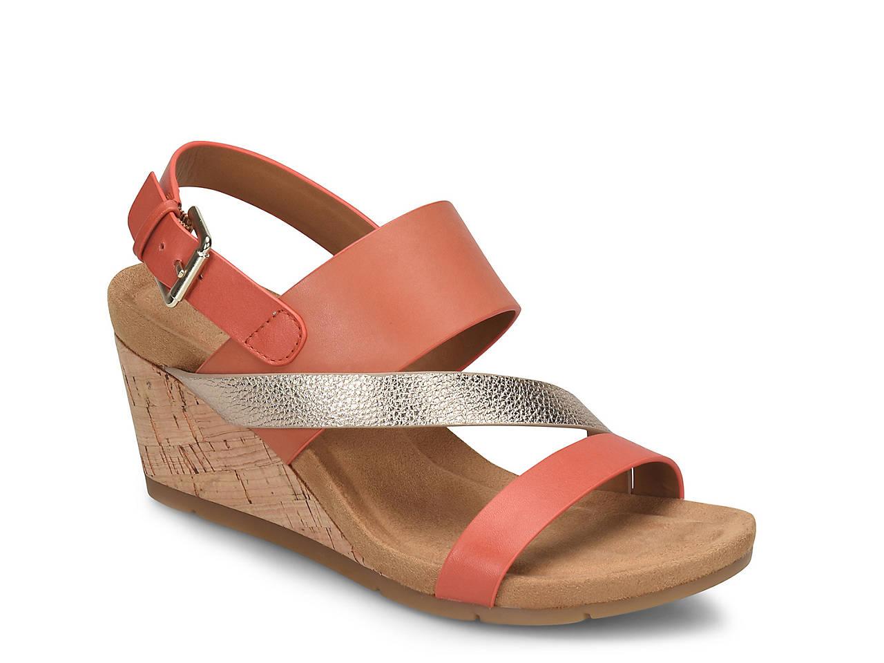 d34c559c4819 Comfortiva Vail Wedge Sandal Women s Shoes