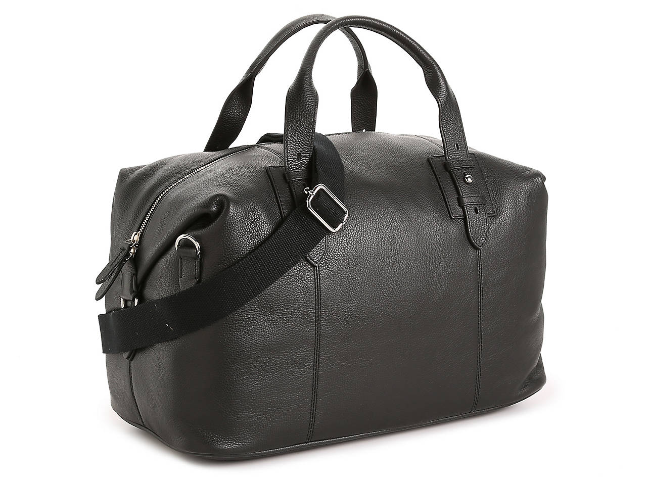 276137b755 Cole Haan Leather Weekender Bag Men s Handbags   Accessories