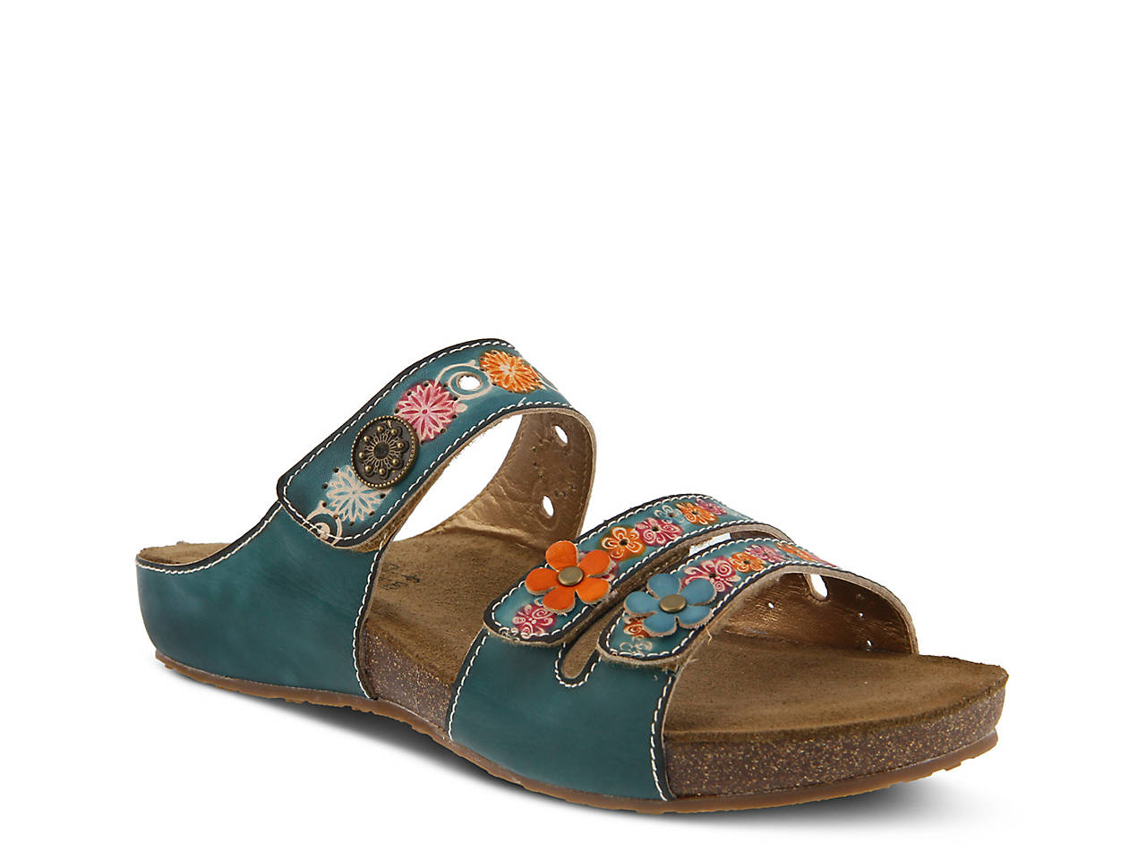 L'Artiste By Spring Step ... Freesia Women's Slide Sandals discount outlet pdpETEJz4