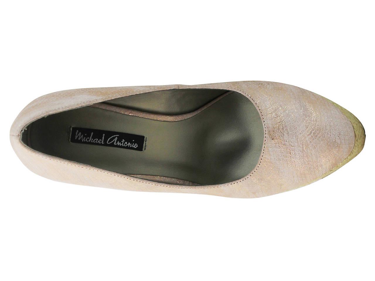 20b0bd645b6 Michael Antonio Anabel Espadrille Wedge Pump Women s Shoes