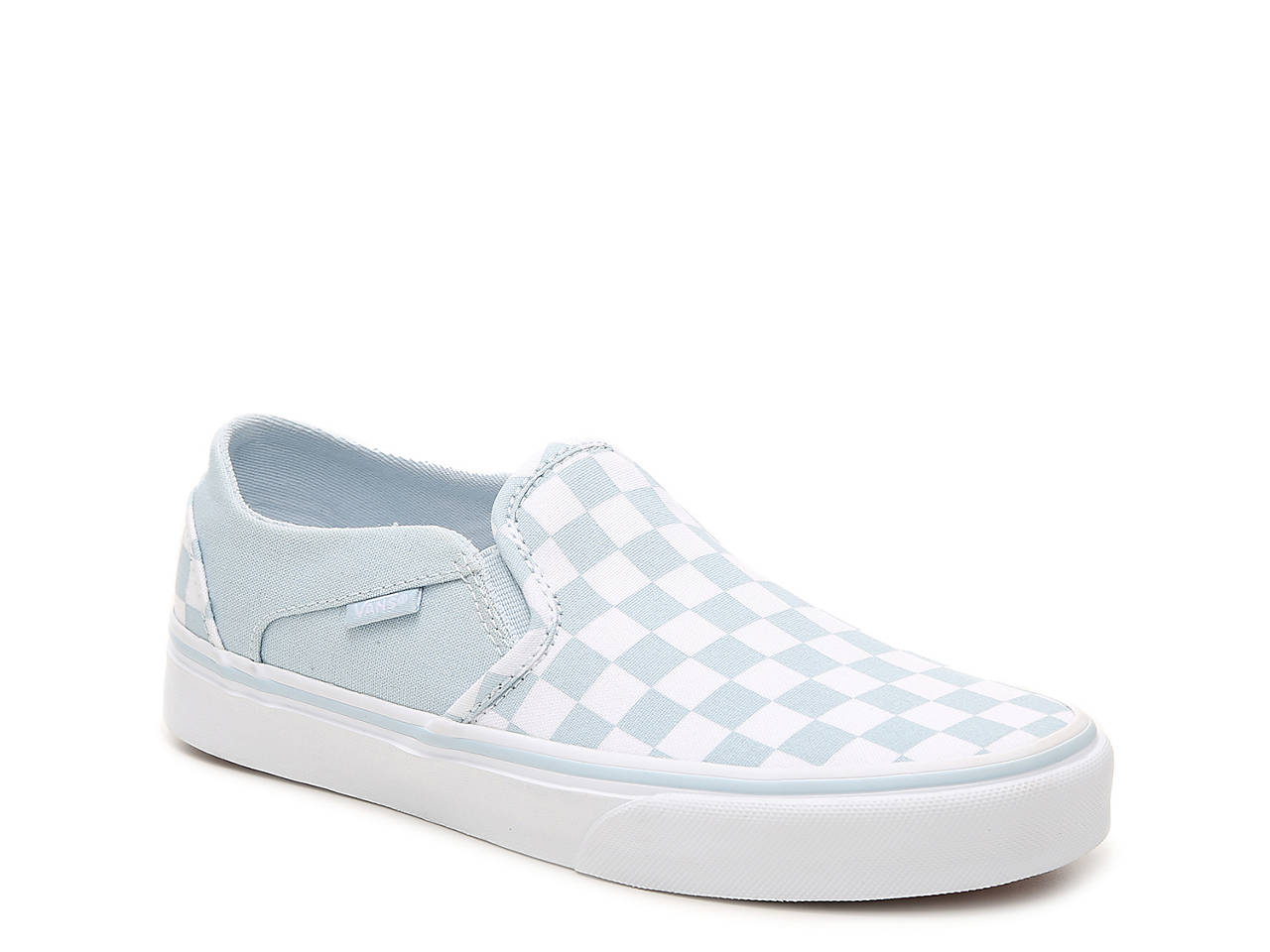 8491d756bc97d7 Vans Asher Checkered Slip-On Sneaker - Women s Women s Shoes