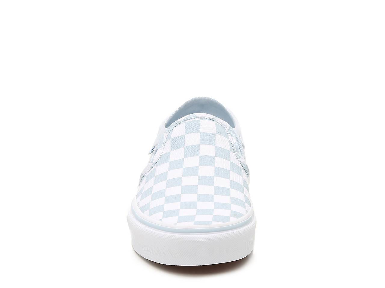4269c9cc8289 Vans Asher Checkered Slip-On Sneaker - Women s Women s Shoes