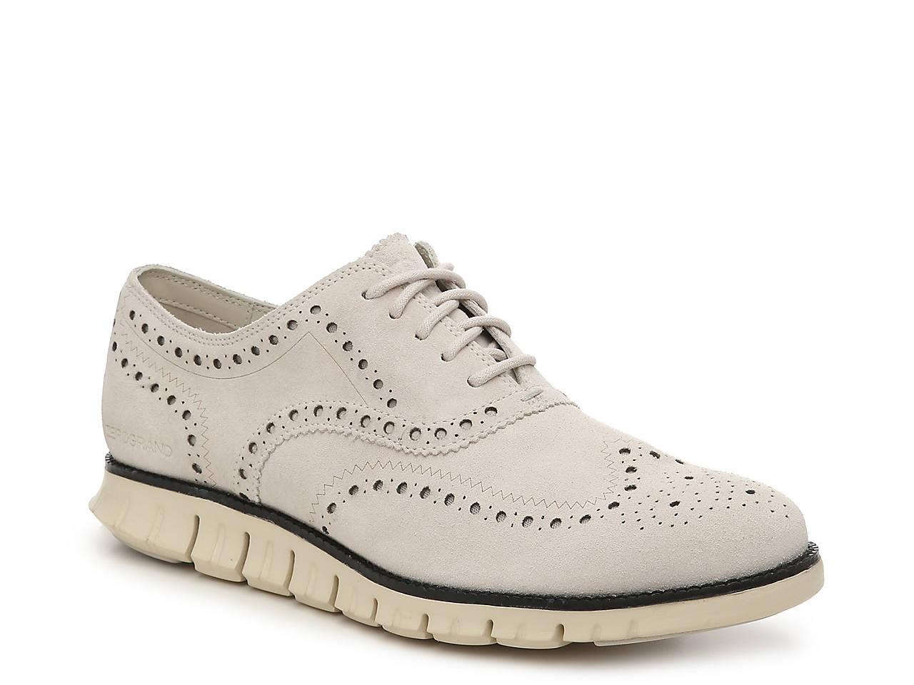 3ff2a22192 Cole Haan Zerogrand Wingtip Oxford Men's Shoes | DSW