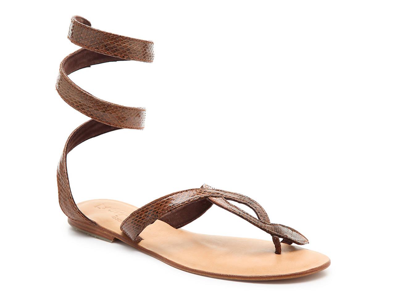7cfec8388 L Space by Cocobelle Snake Wrap Sandal Women s Shoes