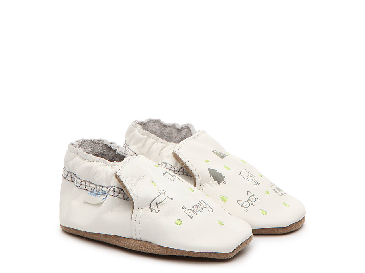 d3fc828ccf Robeez Random Icons Infant Crib Shoe Kids Shoes