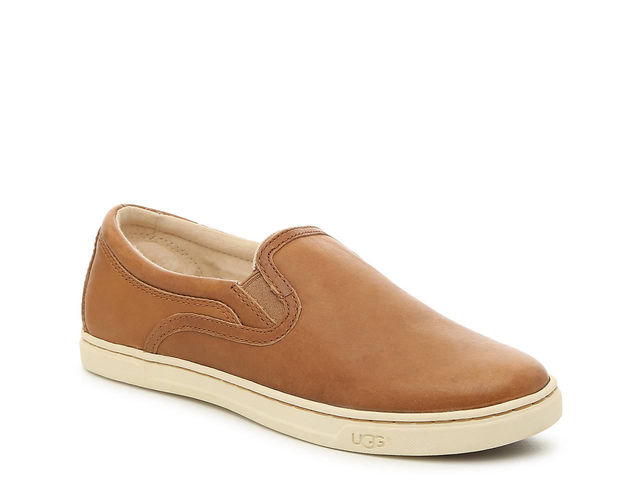 ugg suede slip on sneakers