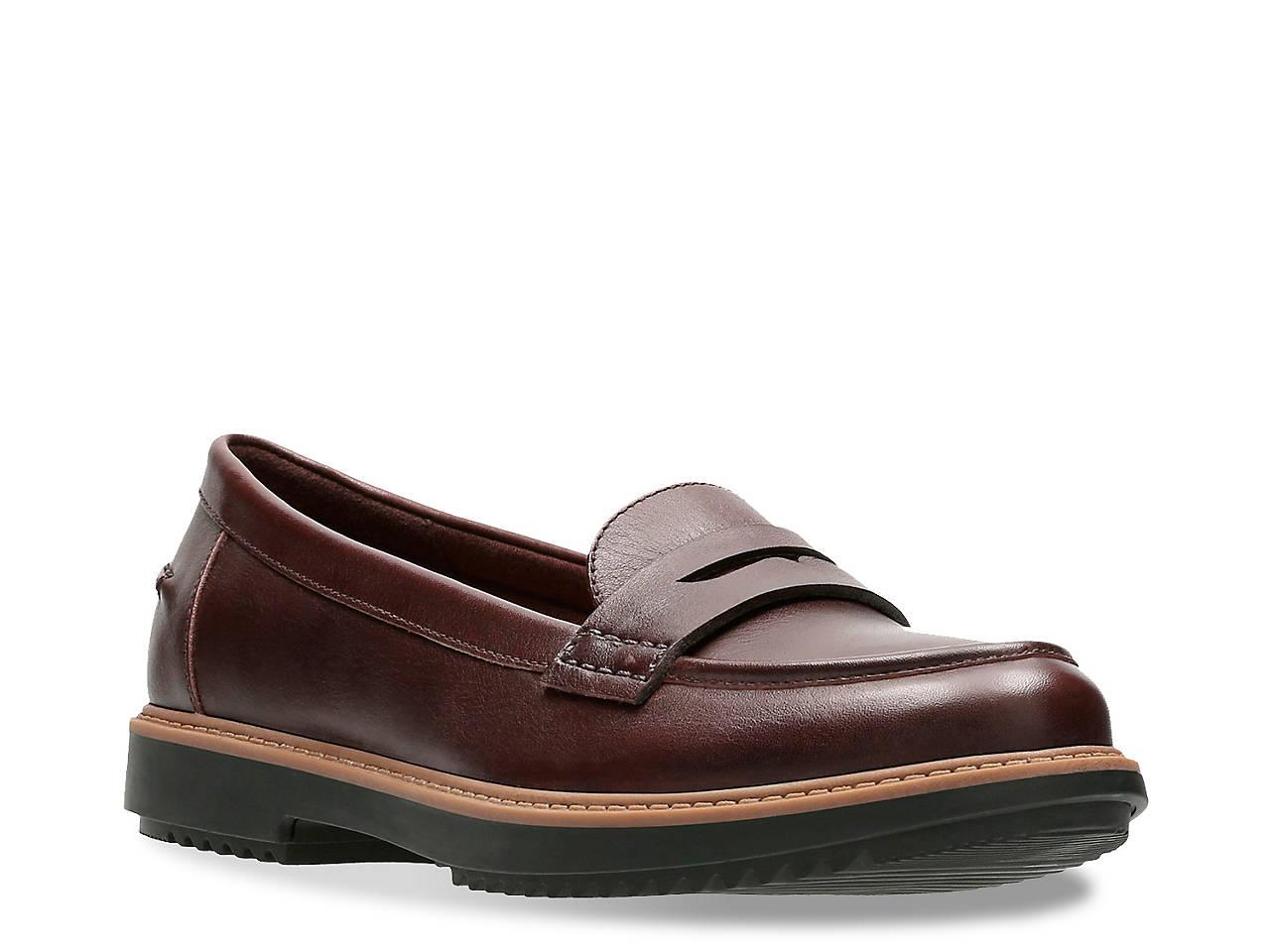 5c95f9ca006 Clarks Raisie Eletta Penny Loafer Women s Shoes