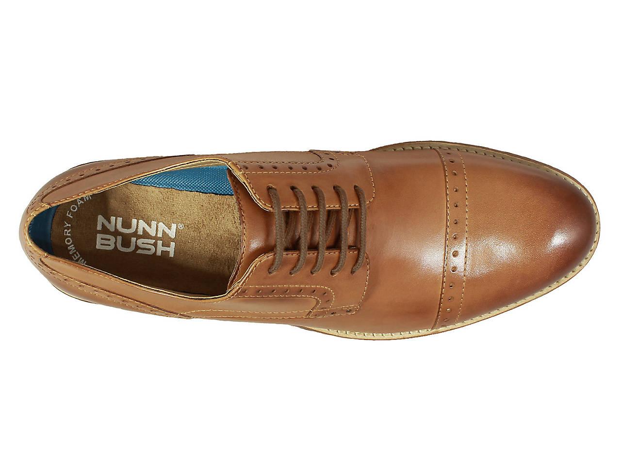 c0db8cd3f6c63 Nunn Bush Middleton Cap Toe Oxford Men's Shoes | DSW