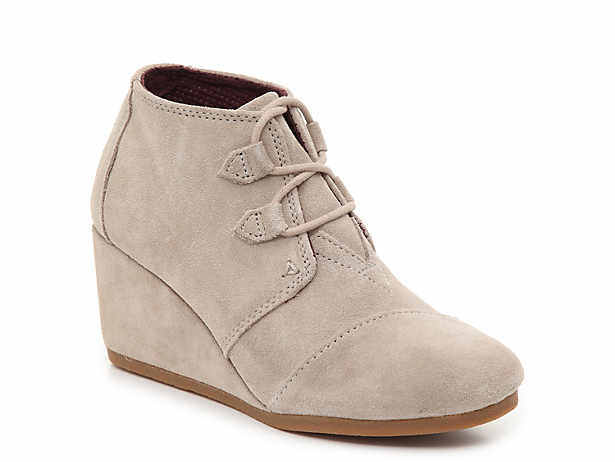 a8e0e8b8e033 Unselected Selected. TOMS. Kala Wedge Bootie