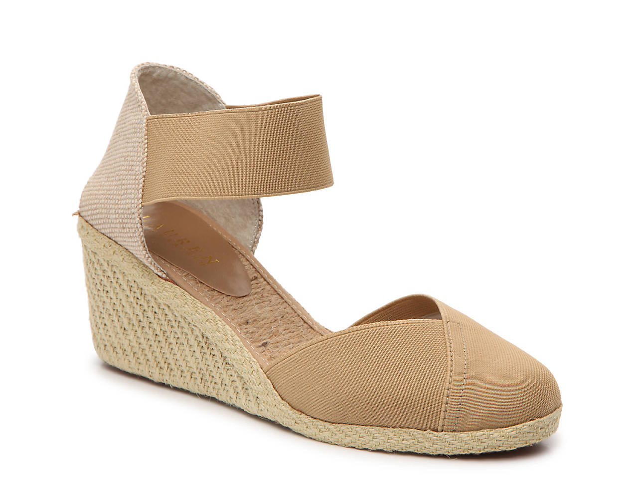 0e5d17de06a Lauren Ralph Lauren Charla Wedge Sandal Women s Shoes