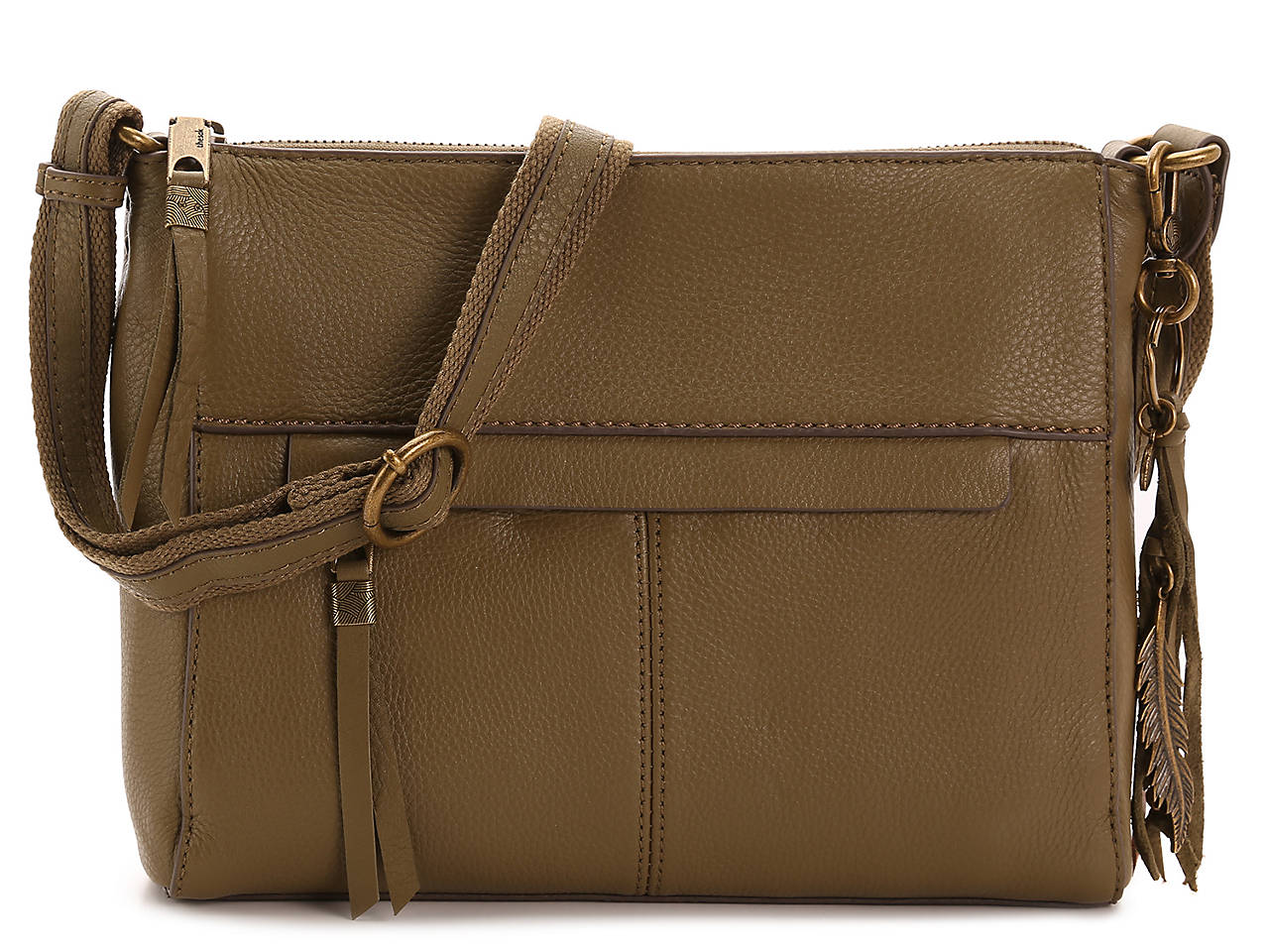 Alameda Leather Crossbody Bag