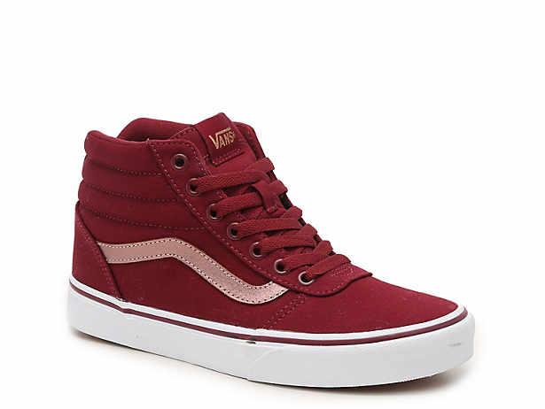 Women s Vans High Top Sneakers  61575a12bb