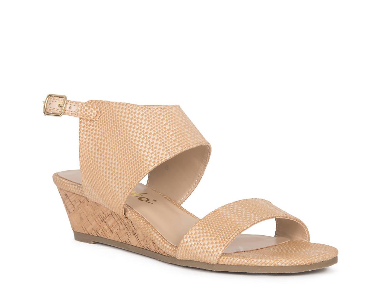 0f8f484d959 Callisto of California Bronzer Wedge Sandal Women s Shoes