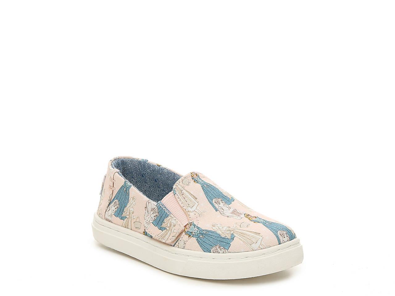 31d5243a191 TOMS Luca Sleeping Beauty Toddler Slip-On Sneaker Kids Shoes