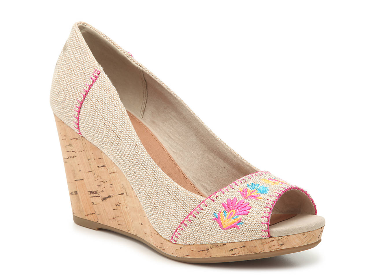 433b2a61f83 TOMS Stella Wedge Pump Women s Shoes