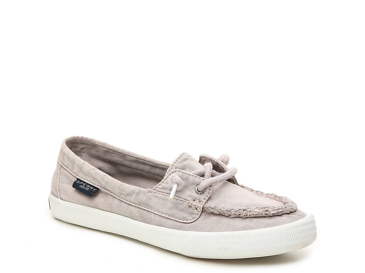 03335d4f63fe Sperry Top-Sider Lounge Away Frayed Boat Shoe Women s Shoes