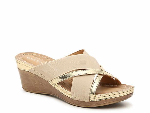 Sonia Wedge Sandal GC Shoes Sonia Wedge Sandal