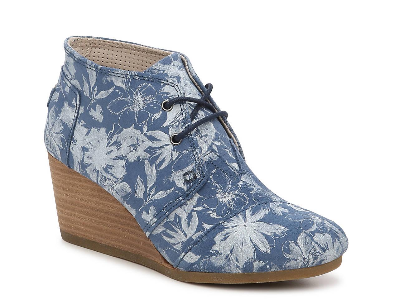 c2cb220c3df TOMS Desert Wedge Bootie Women s Shoes