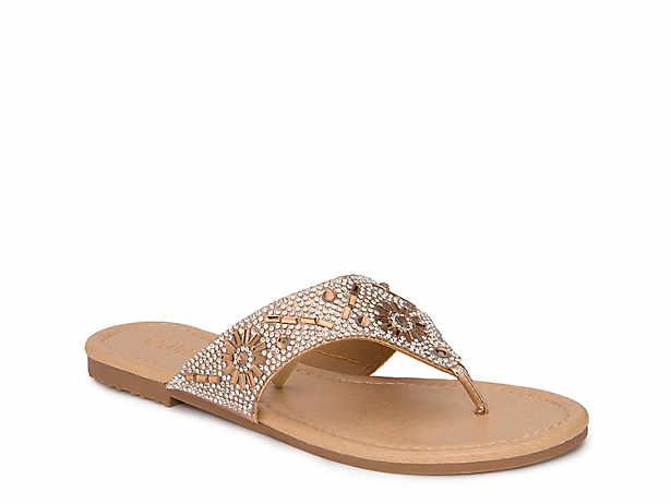 651477c3a Women s Gold Olivia Miller Sandals