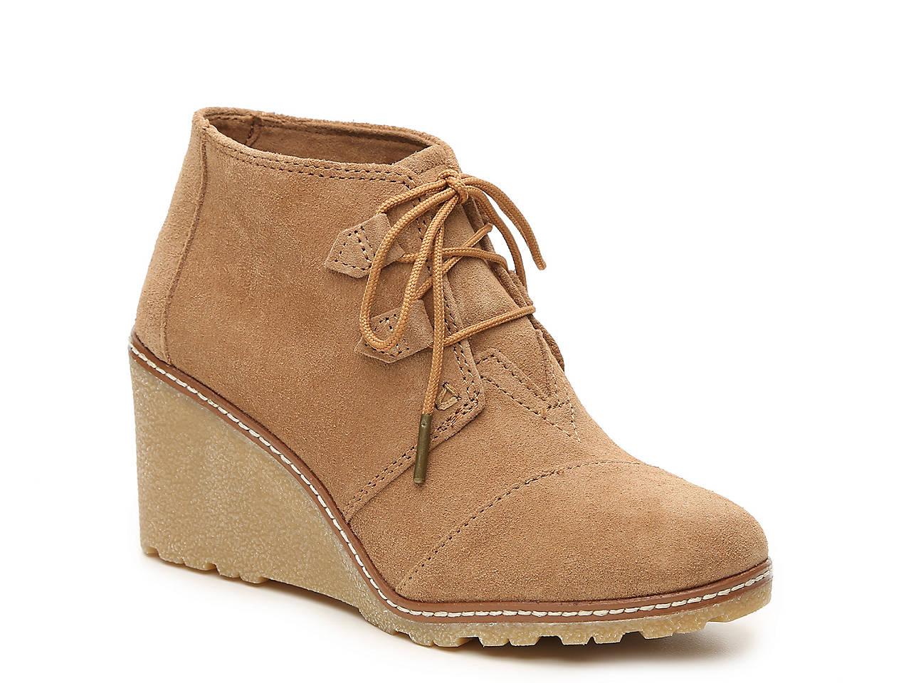 b409a016143 TOMS Desert Wedge Bootie Men s Shoes