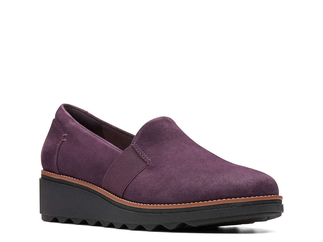 a8edfaed207 Clarks Sharon Tori Wedge Slip-On Women s Shoes