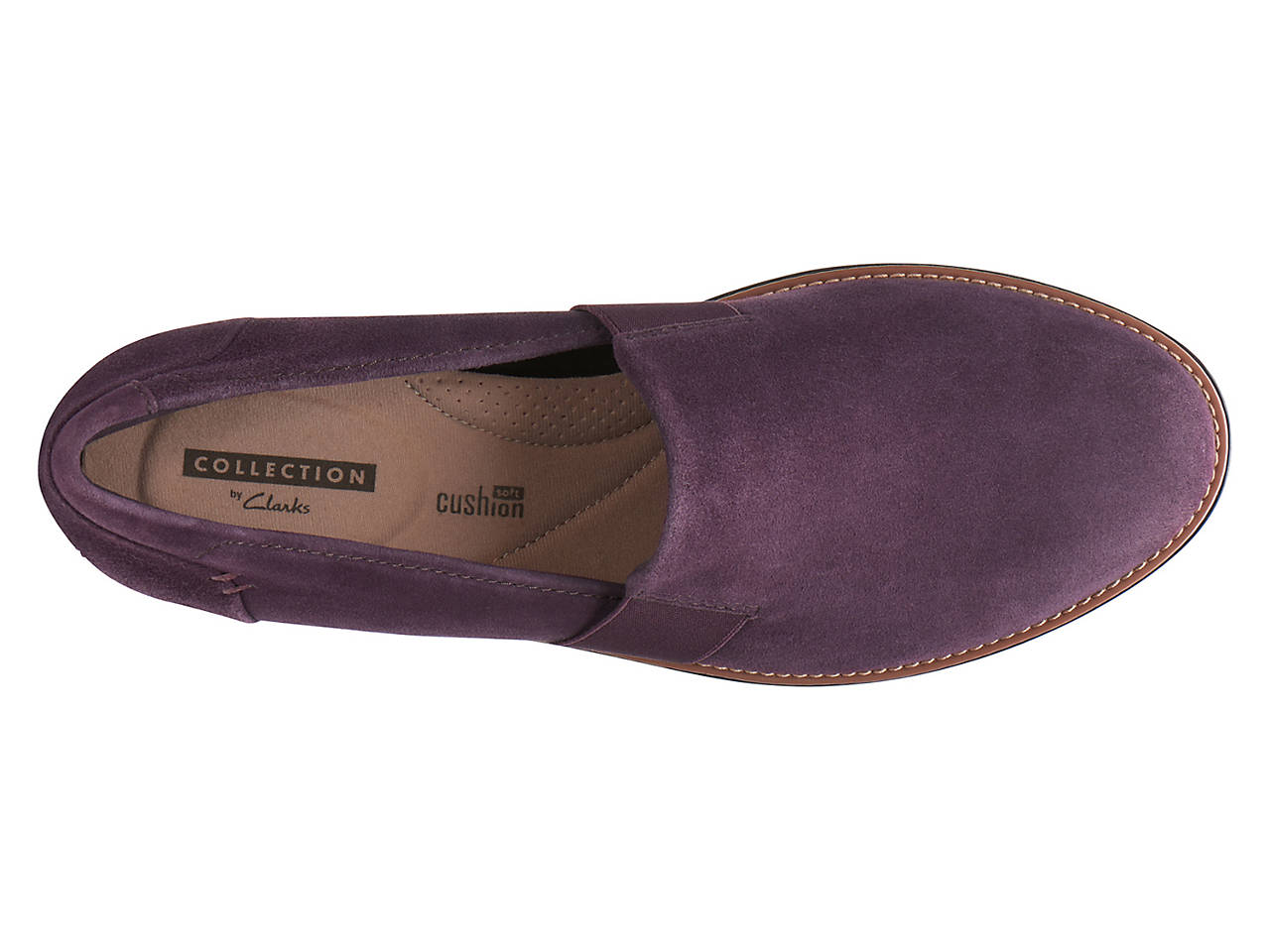 4da13f12aa Clarks Sharon Tori Wedge Slip-On Women s Shoes