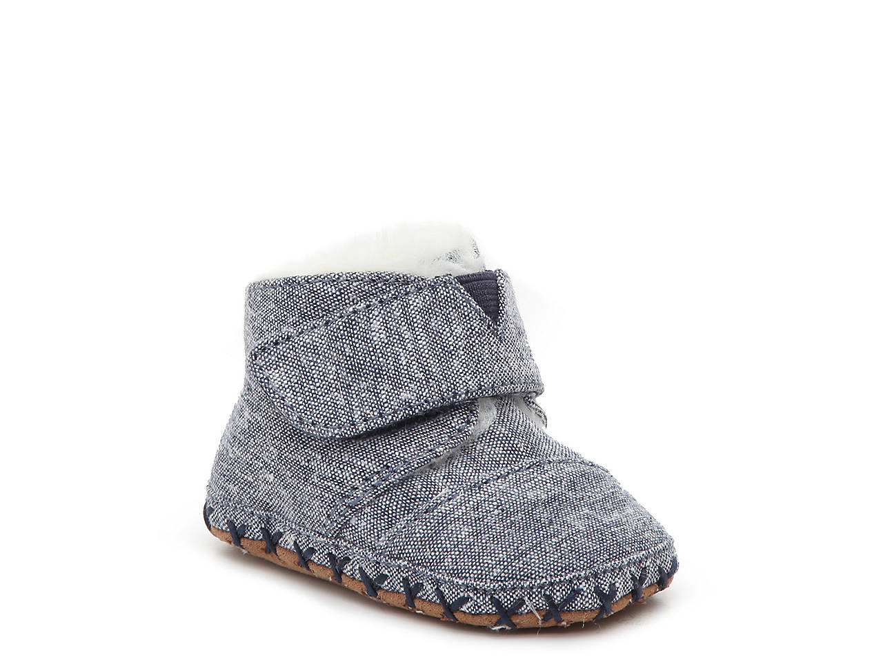 0e2a0d34d1f TOMS Cuna Infant Crib Shoe Kids Shoes