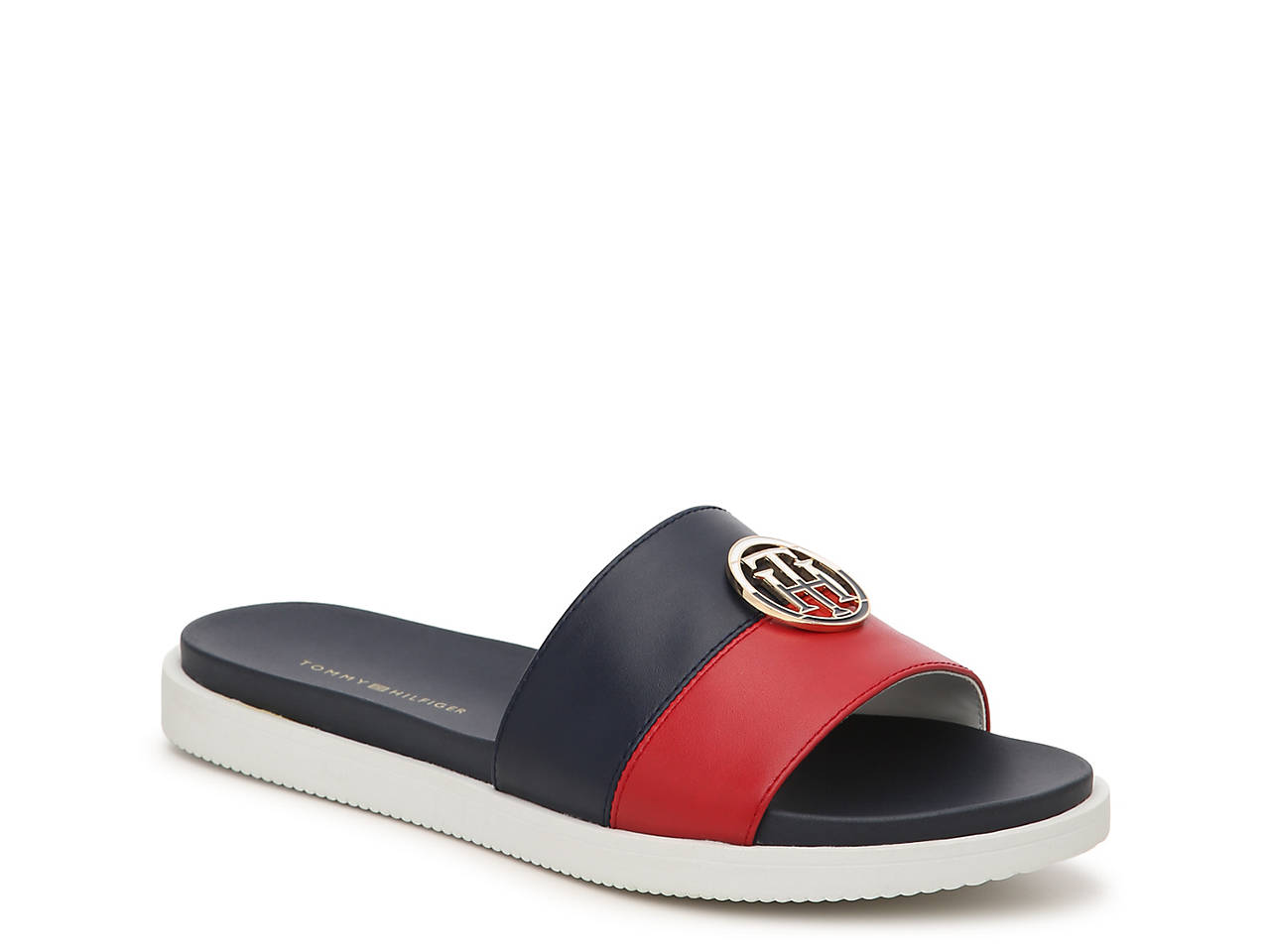 a0cb08ac5948 Tommy Hilfiger Souli Slide Sandal Women s Shoes
