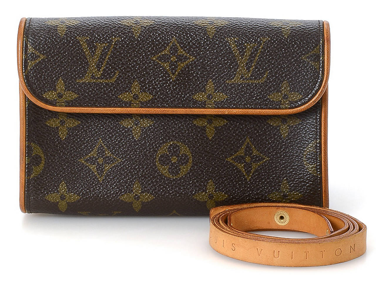 63cf10390dee Louis Vuitton - Vintage Luxury Pochette Florentine Belt Bag Women s ...