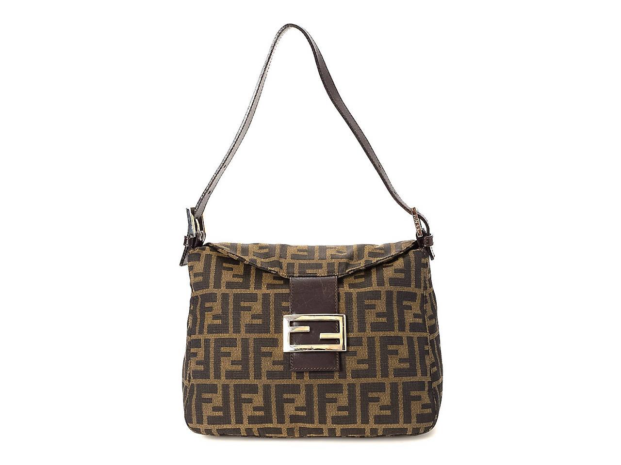 83fa562ce393 Fendi - Vintage Luxury Zucca Mamma Baguette Shoulder Bag Women s ...