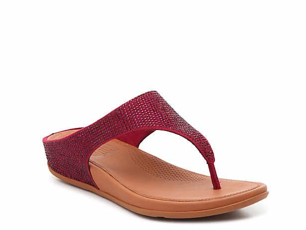 234952cf9 FitFlop. Banda Glitz Wedge Sandal