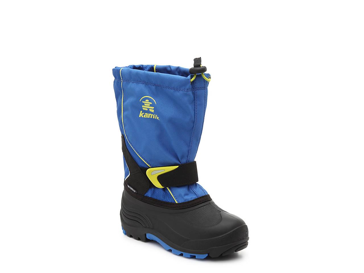 c957caeb7faf Kamik Sleet Youth Snow Boot Kids Shoes