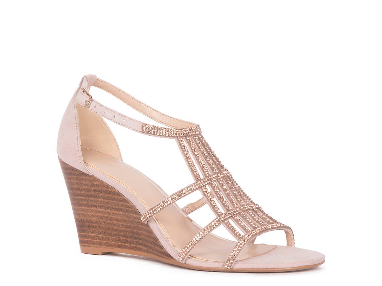 a2c7895d5 Athena Alexander Hampton Wedge Sandal Women s Shoes