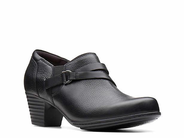 Women's Black Clarks Ankle Boots DSW  DSW
