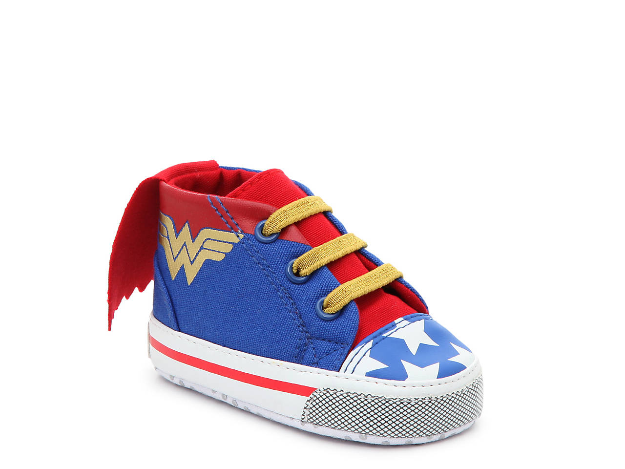 882324b5af2f Warner Bros Wonder Woman Infant Crib Shoe Kids Shoes