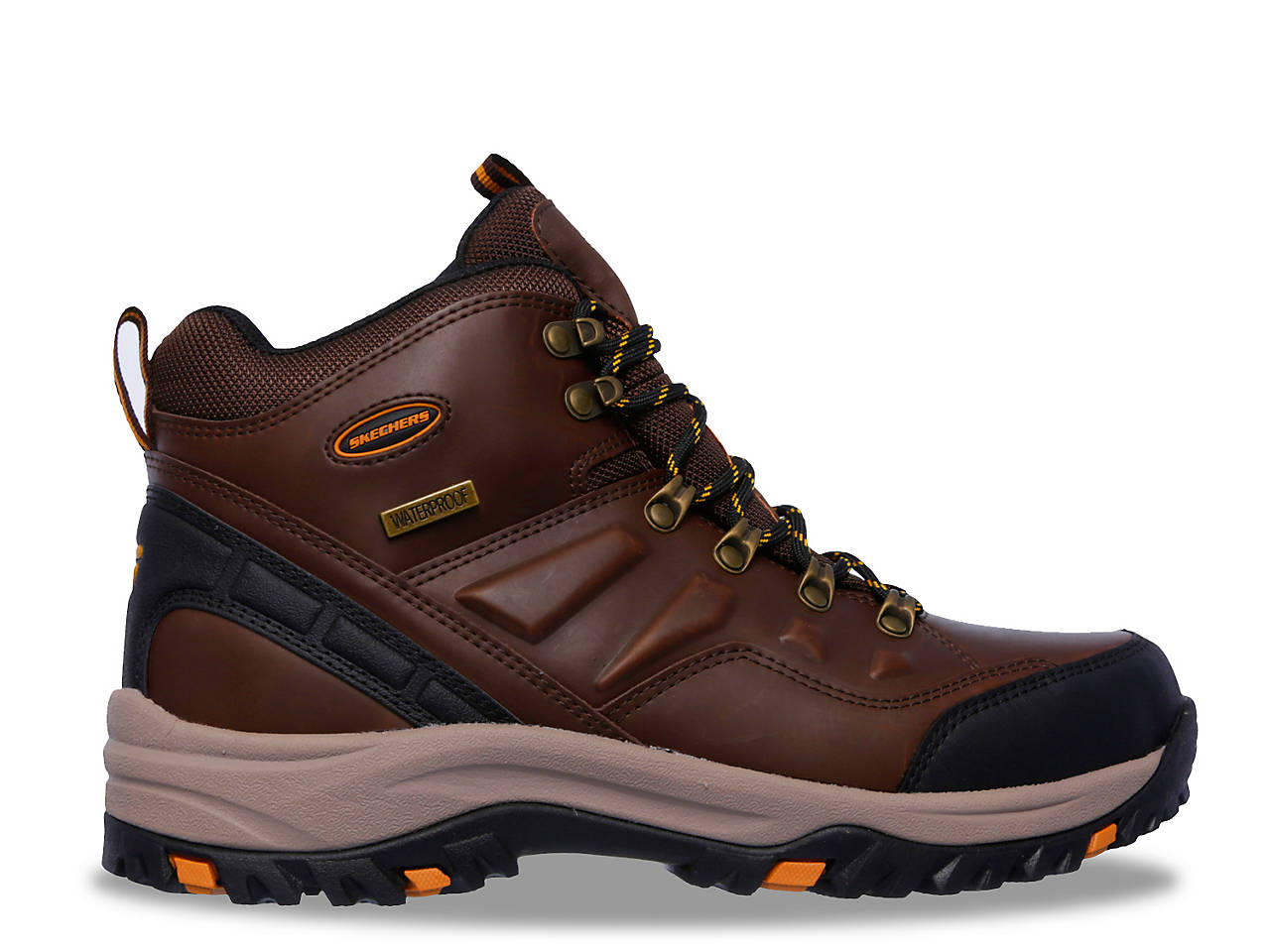 5f3d205f4c675 Skechers Relaxed Fit Relment Traven Hiking Boot Men's Shoes | DSW