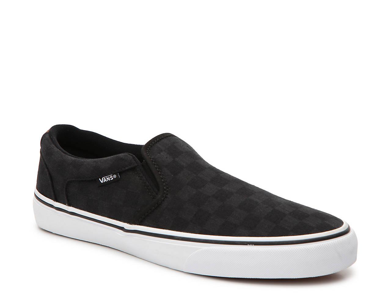 aacf874ad Vans Asher Deluxe Slip-On Sneaker - Men s Men s Shoes