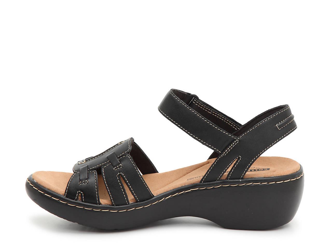 ac0d12c5bd6 Clarks Delana Nila Wedge Sandal Women s Shoes