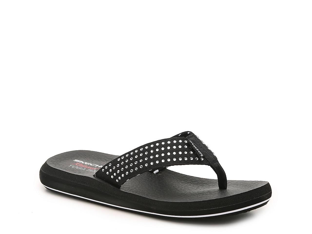 3df69ad4cb5a Skechers Cali Asana New Age Flip Flop Women s Shoes